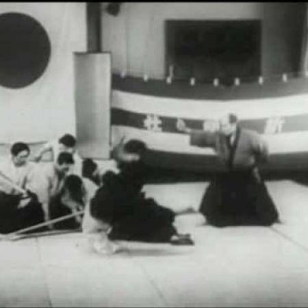 Aikido Founder Morihei Ueshiba 1935
