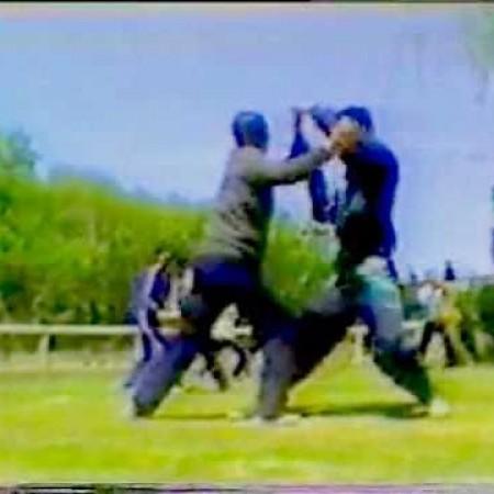 1990年代 陳家溝陳氏太極拳:推手、練拳風景 王西安 Wang Xian